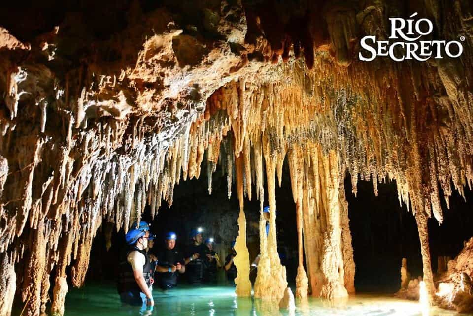 The Rio Secreto Cancun an underground river tour