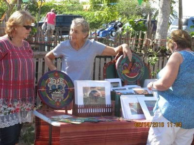 Local art and artisans here on the Emerald Coast side of the Yucatan