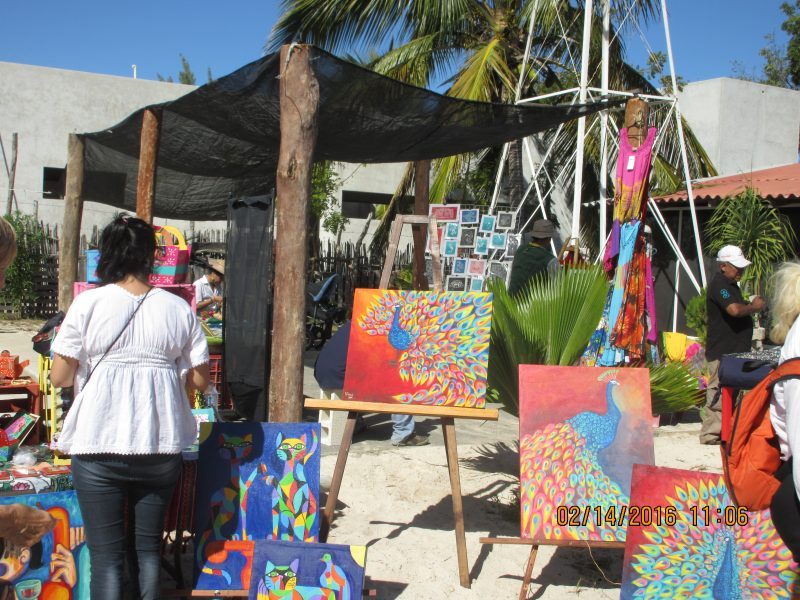 Local art and artisans here on the Emerald Coast side of the Yucatan are a talented bunch from ex-pats to Mexicans there is some great art to be found.