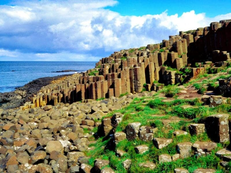 giant's causeway on the Irish bucket list