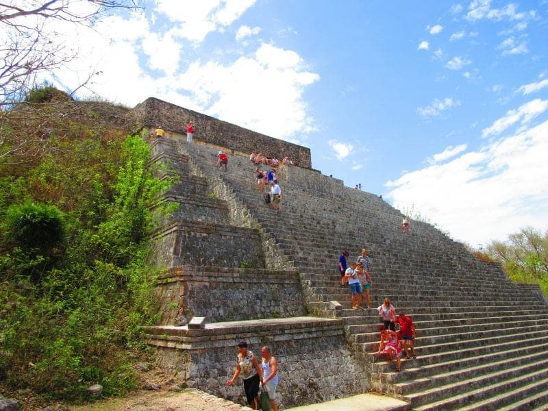 Uxmal pyramids