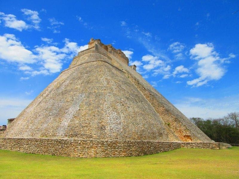 The magicians pyramid Uxmal