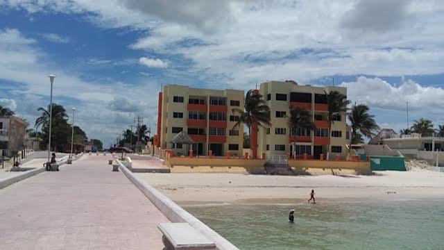 newly built apartments on the chuburna pier