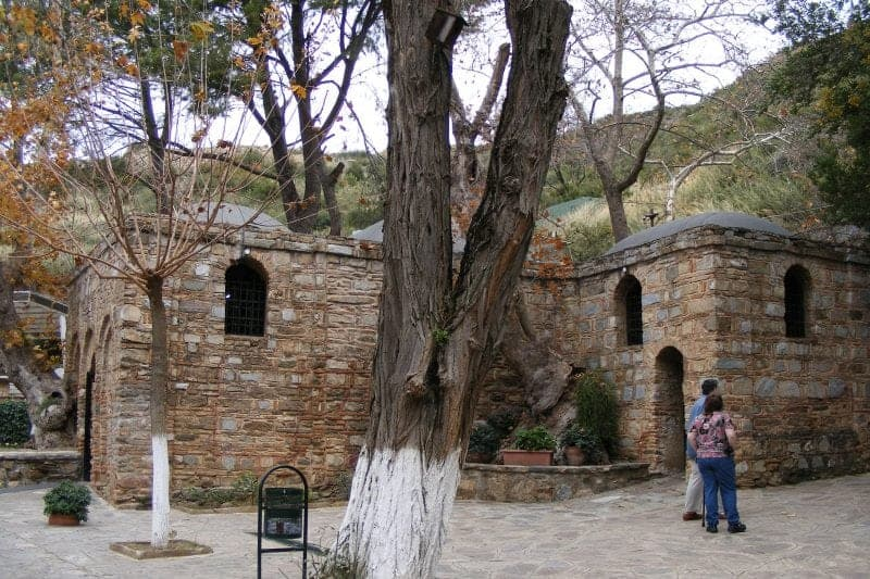 The Virgin Mary's House in the mountains of Turkey