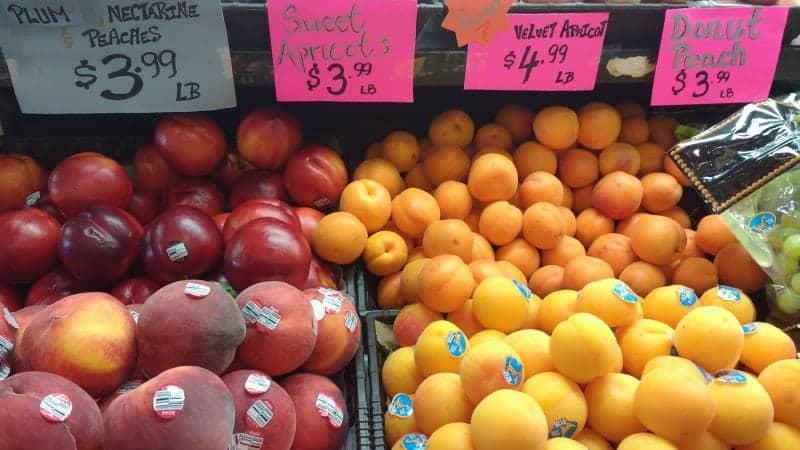 St. Lawrence market fruit vendors