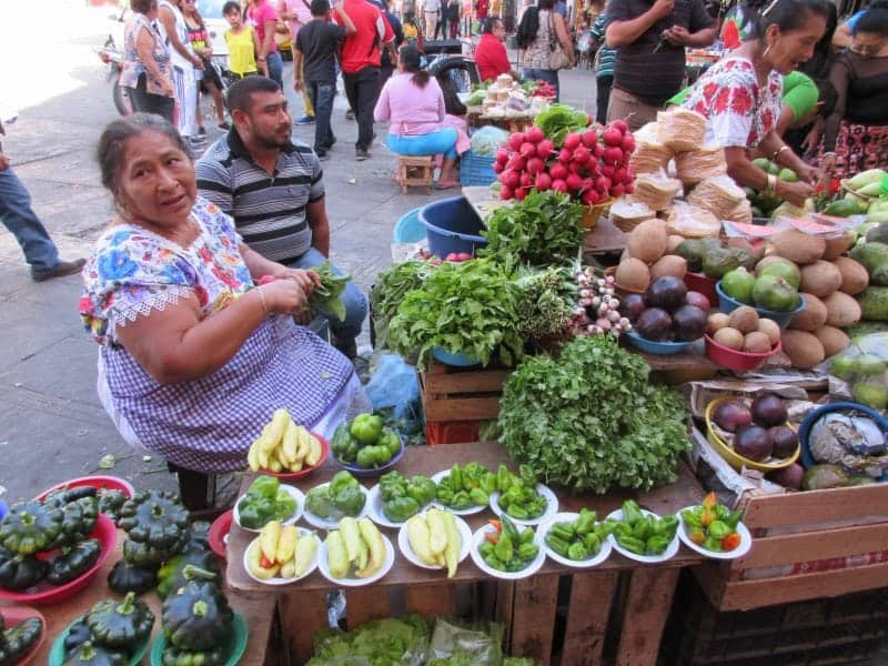 the Lucas Galvez market in downtown Merida a must do