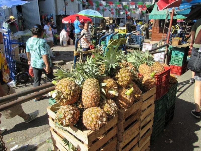 vendors just outside the Lucas Galvez Market in Merida