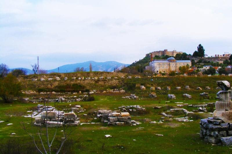 The Sacred Temple of Artemis Turkey Wonder of the Ancient World