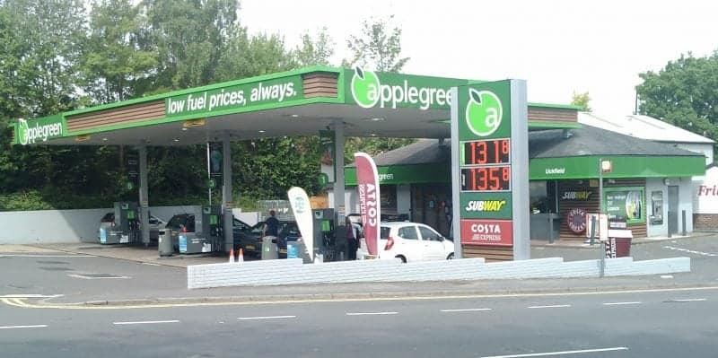 petrol stations in Ireland