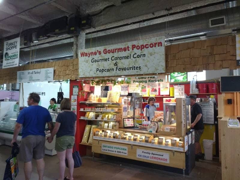 the best gourmet popcorn locally grown produce at the farmer's & artisan's market in London