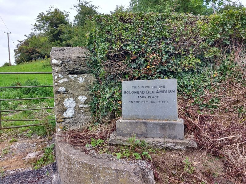 Solohedbeg memorial in tipperary