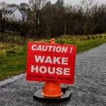 a wake house how uniquely irish