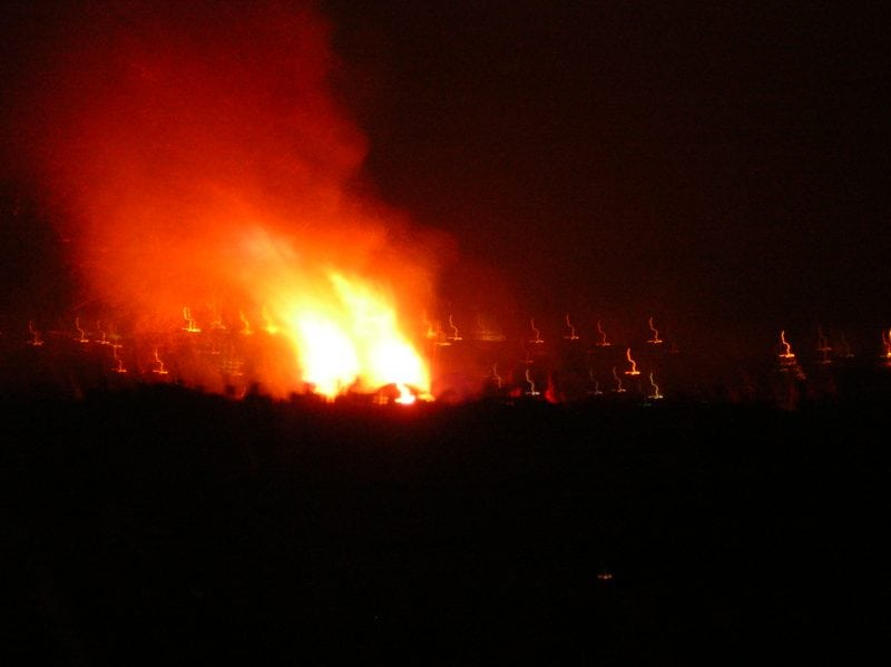 samhain fires