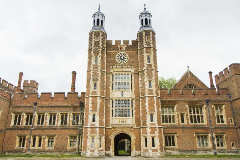 the famous Eton college