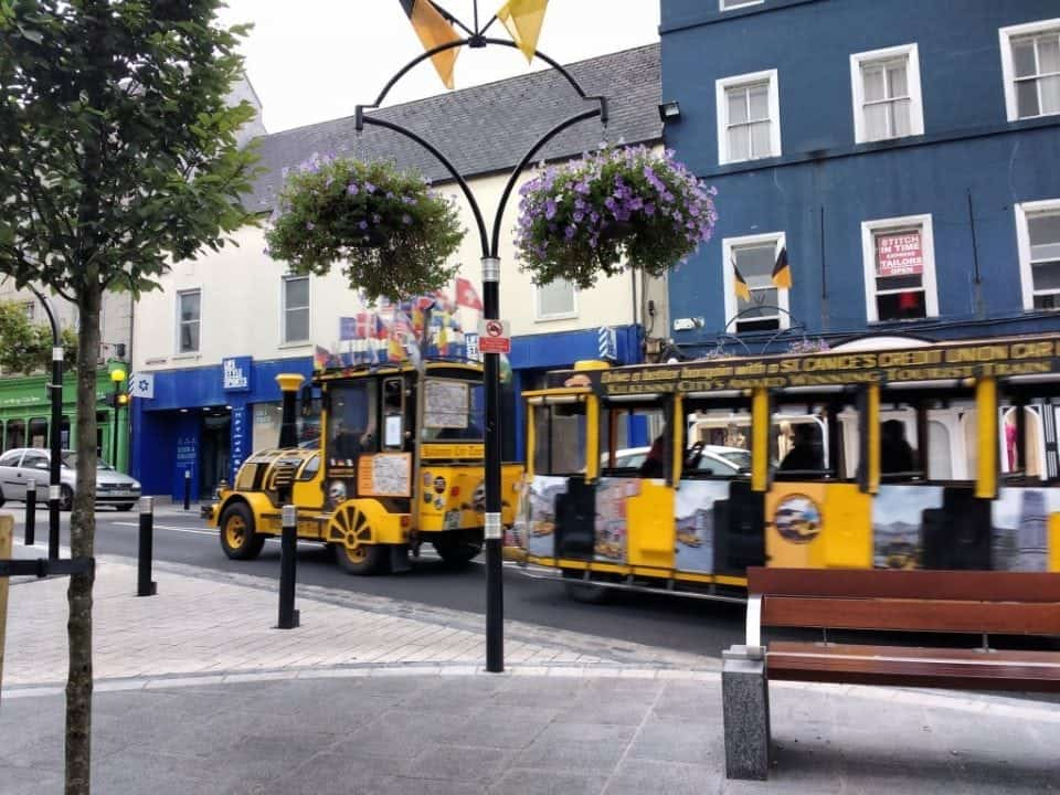 The road train in Kilkenny a great way to see the city