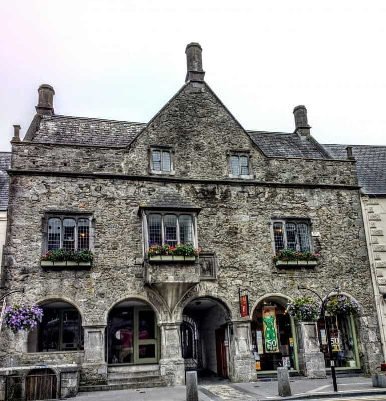 Tudor Rothe House. It is said to be one of Ireland's best surviving examples of a 16th Century merchant's house.