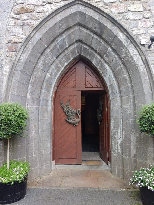 doorway to church at Sligo