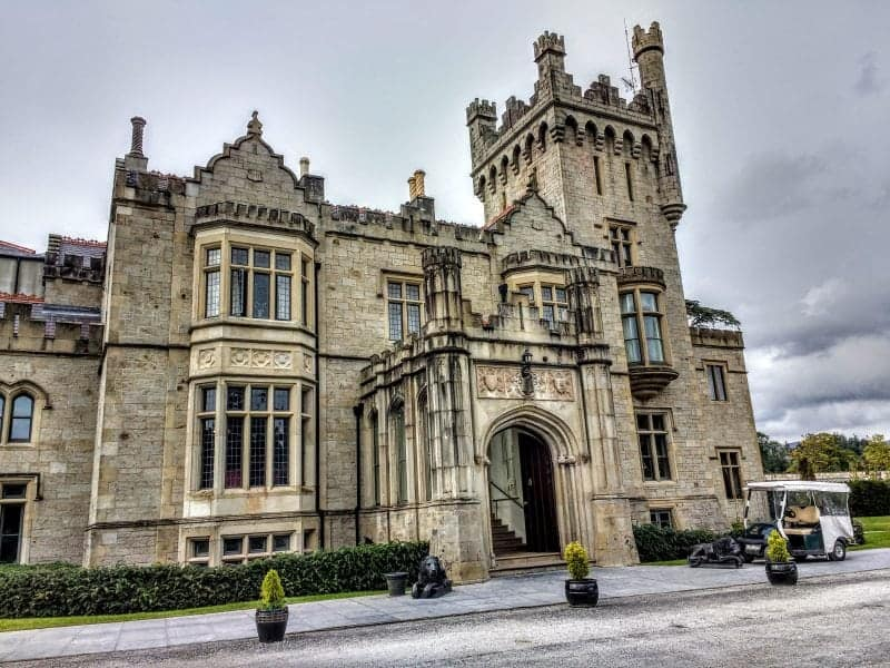 the Solis Lough Eske Castle Hotel today