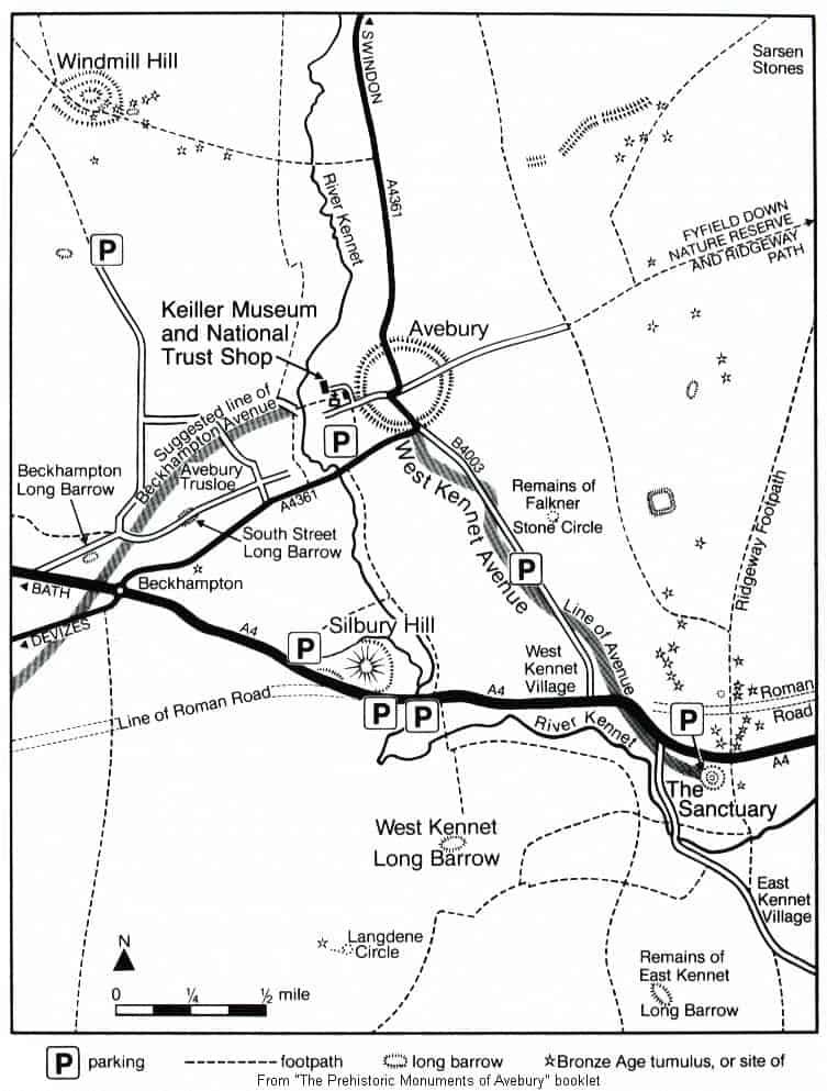 Avebury Henge - The historic importance of Avebury's Henge