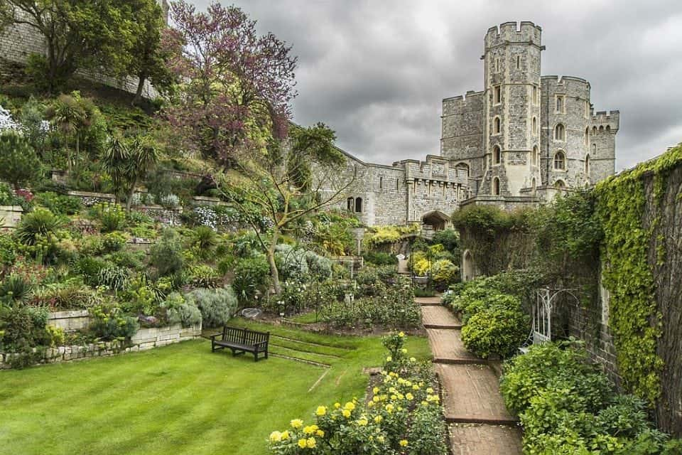 Gardens at Windsor Castle