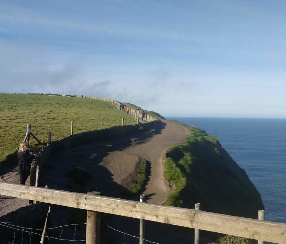trail to hags head at the Cliffs of Moher