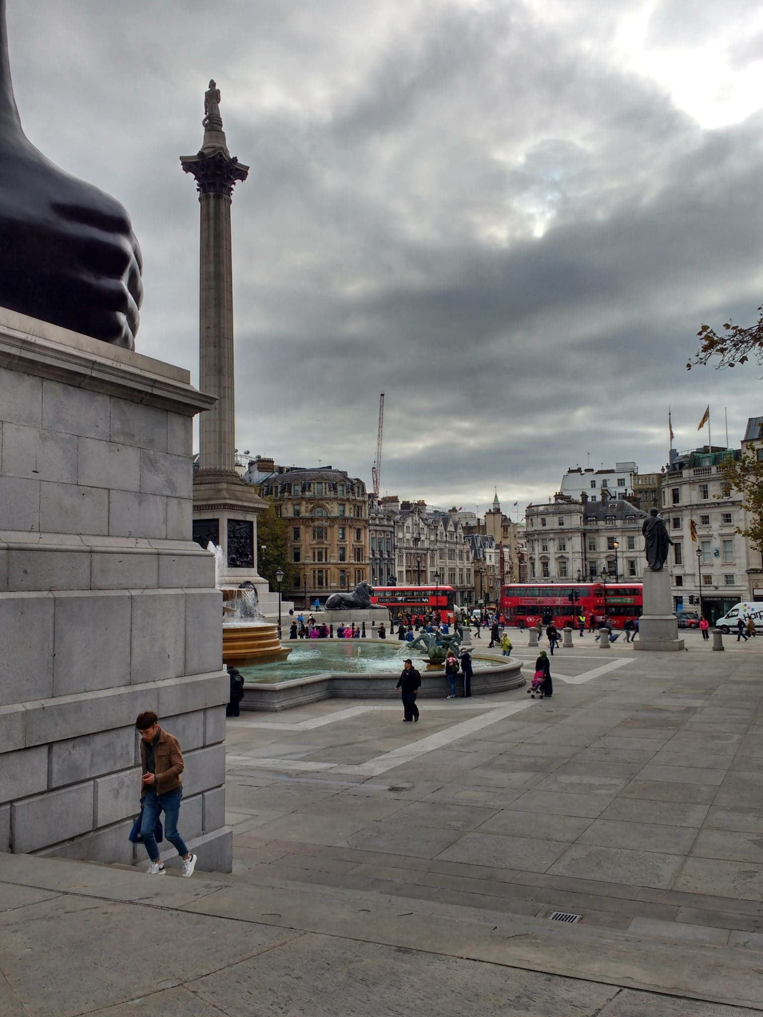Iconic Trafalgar Square lions and some fascinating facts