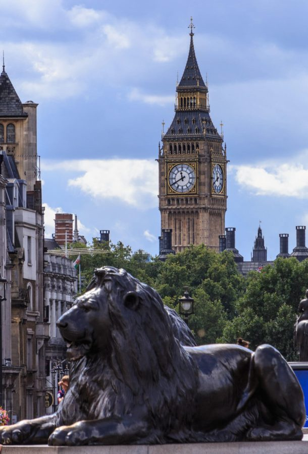 Big Ben and the lions of Trafalgar Square the ultimate 2 days in London itinerary