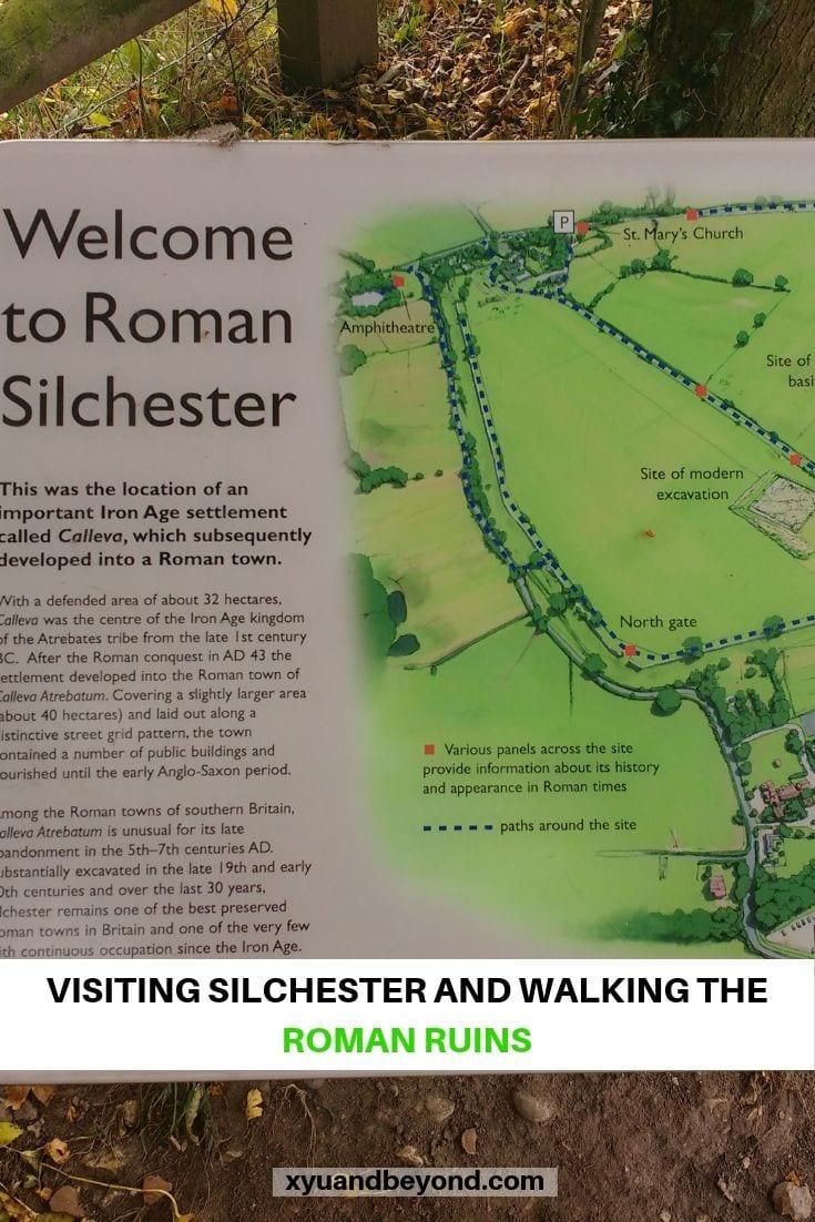 Silchester the history of Rome in England - Calleva Atrebatum