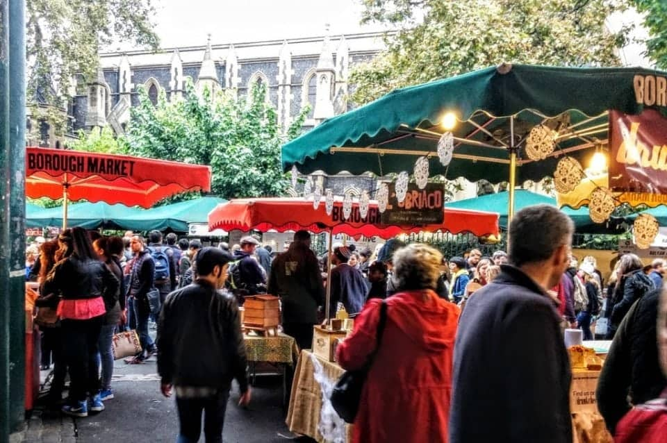 16 Fabulous food street markets in London