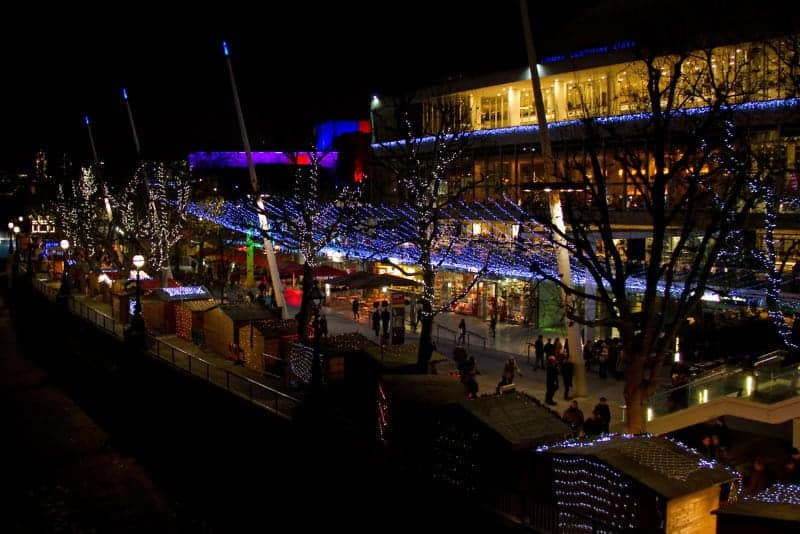 southbank the 12 days of Christmas