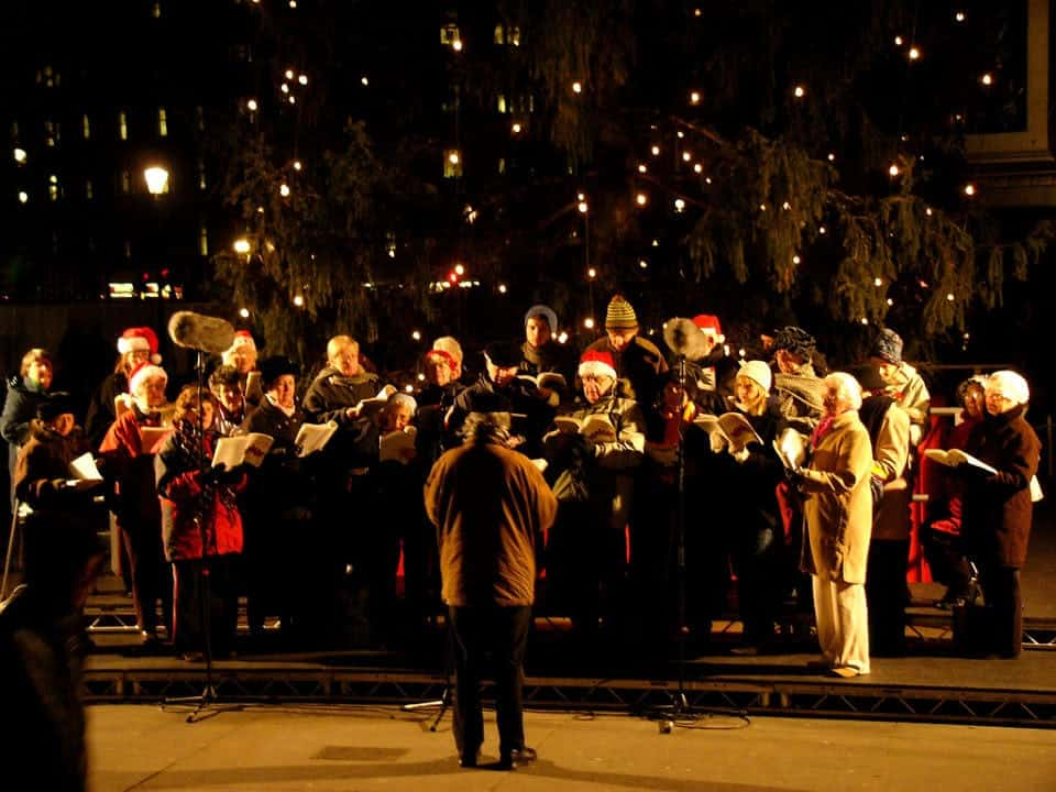 Christmas Carol Singers in London