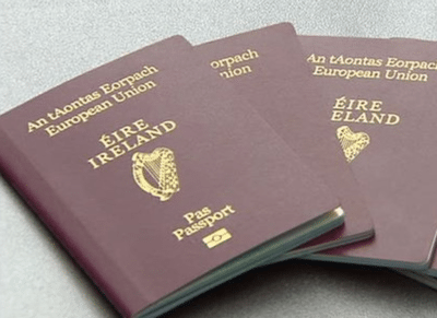 retire to ireland on your irish passport