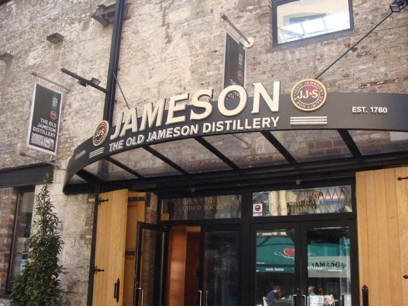 Jameson Distillery tour in Dublin