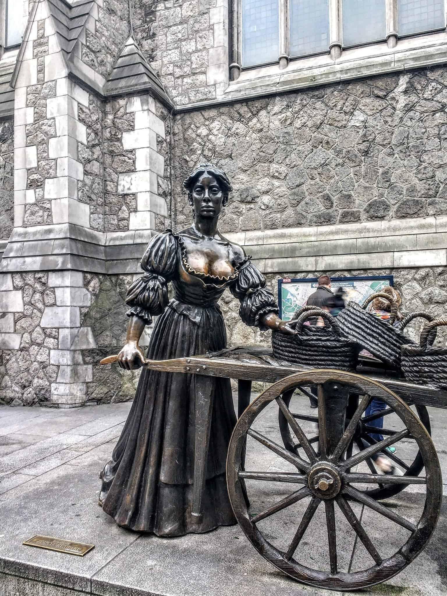 Molly Malone statue in Dublin - Dublin Don'ts