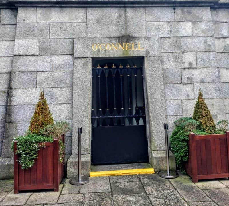 Daniel O'Connells grave in Dublin's Glasnevin Cemetery