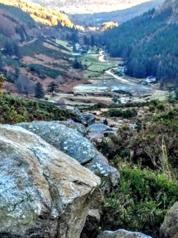 Wicklow Gap just up from Glendalough