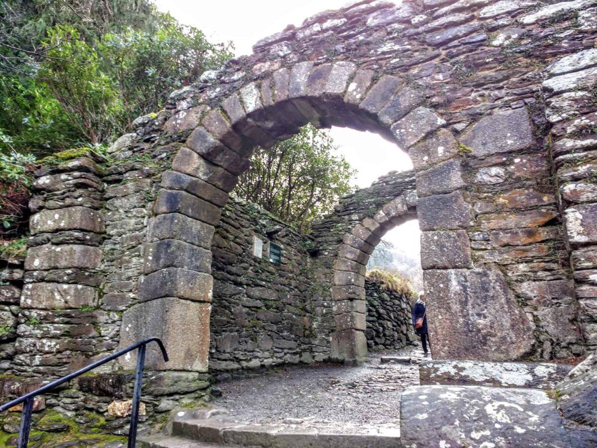 Glendalough gates