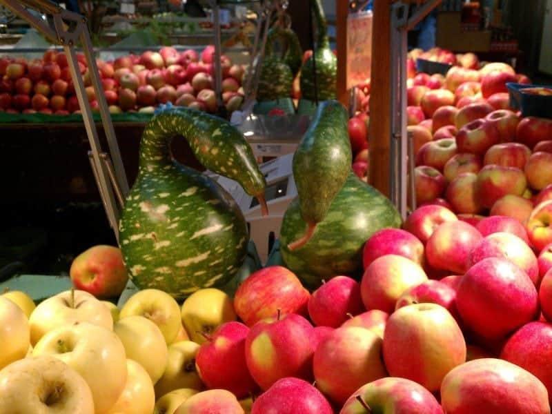 lovely fresh fruit and vegetables