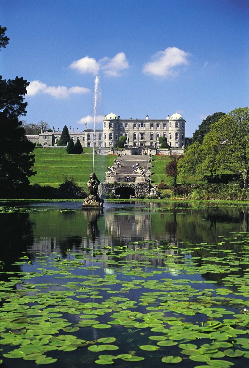 Ireland's Magnificent Powerscourt Gardens and Waterfall