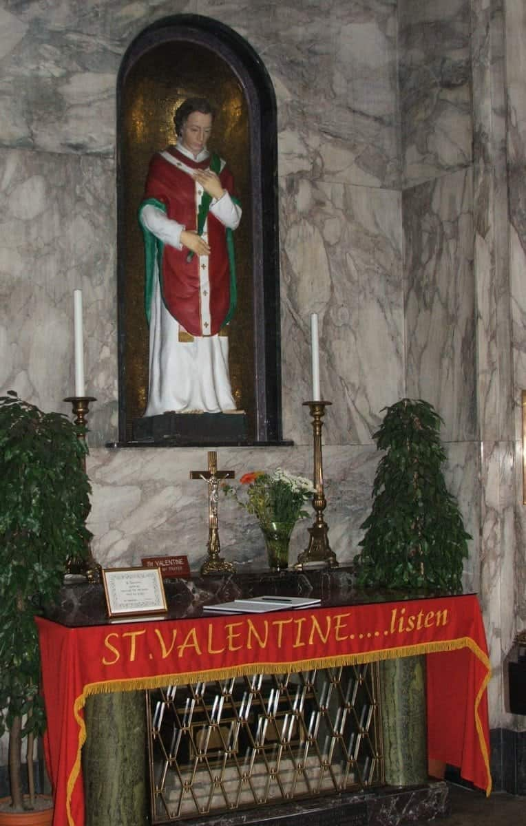 cool things to do in Dublin check out St. Valentine's tomb