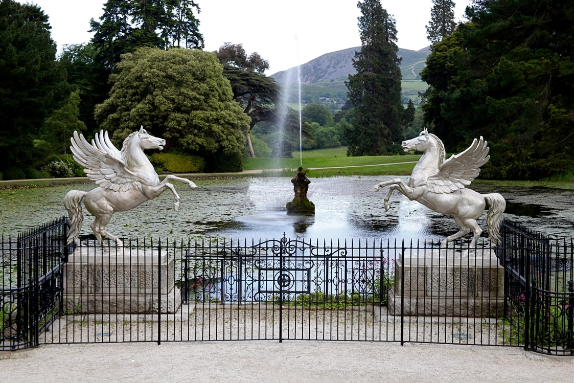 Powerscourt gardens and grounds