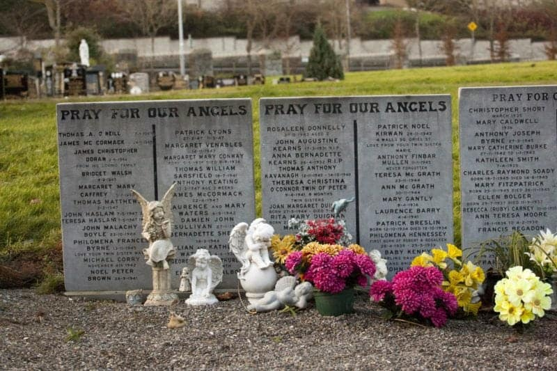 Angels burial ground in Dublin's Glasnevin Cemetery