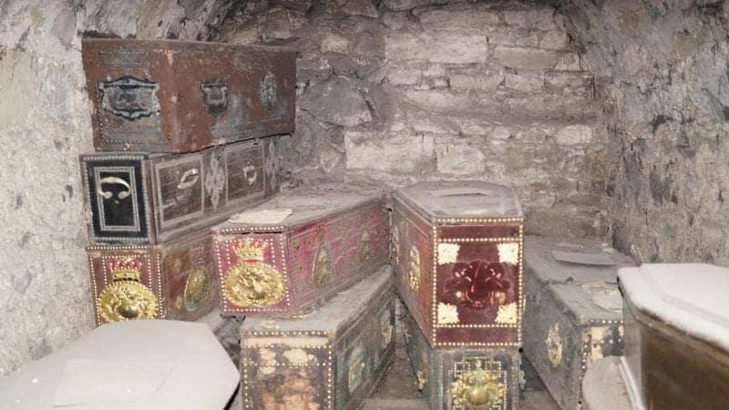 St Michan's Church Mummies