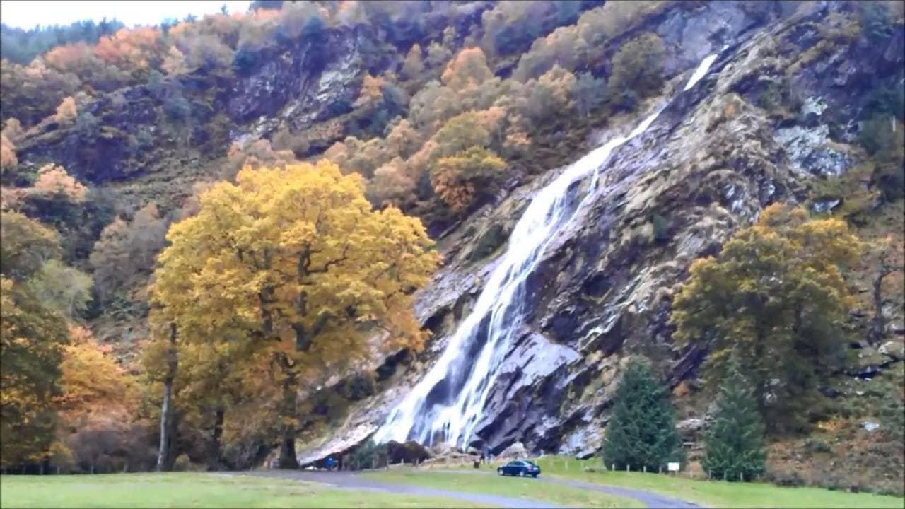 Ireland's Magnificent Powerscourt Gardens and Waterfall
