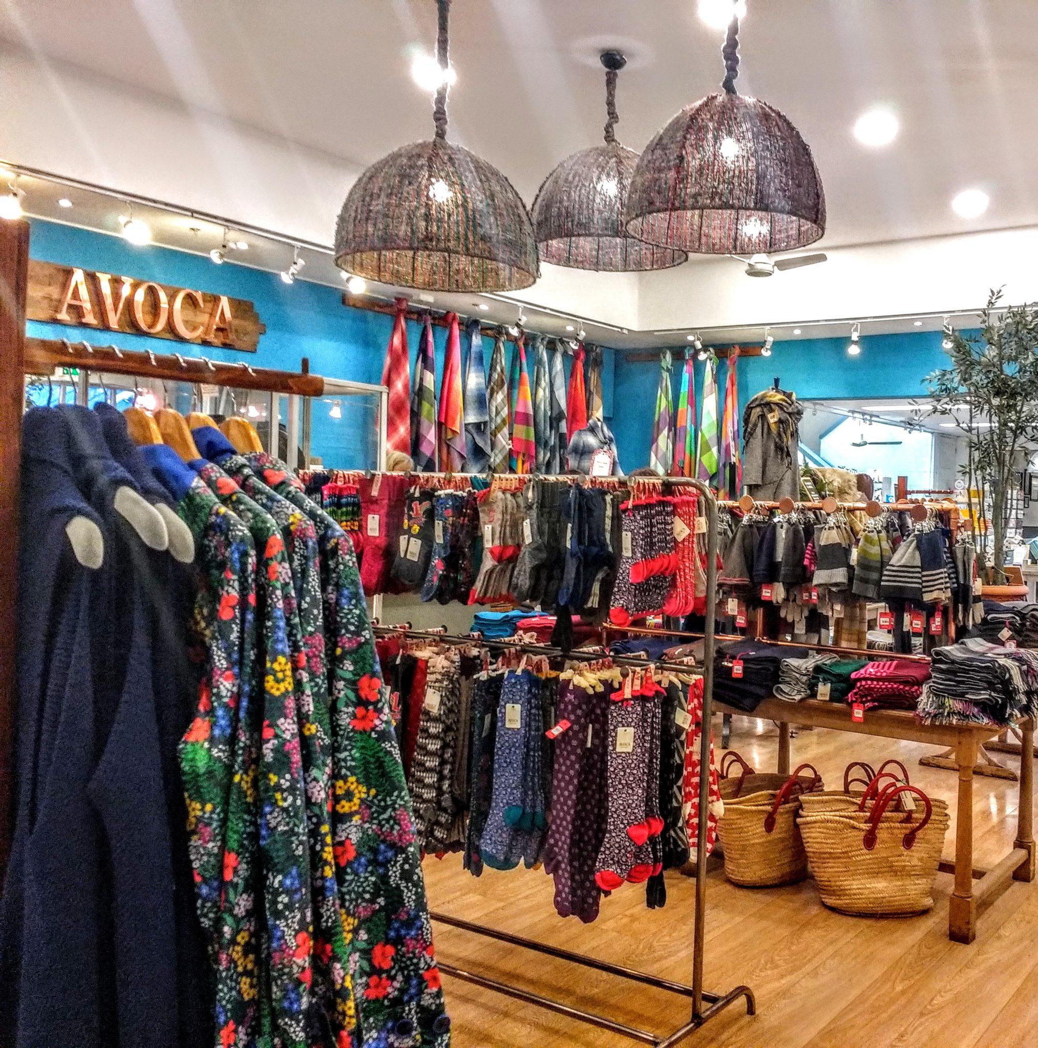 Avoca Mill Store merchandise