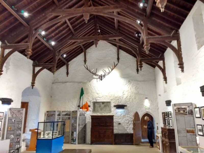 interior of cahir castle