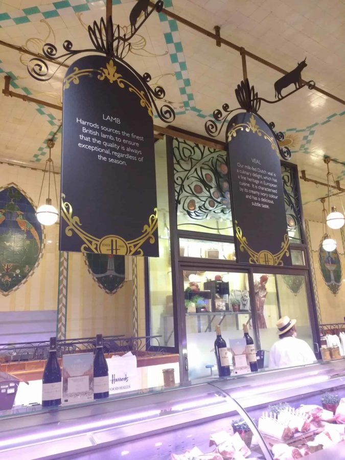 the best of Harrods Food Hall