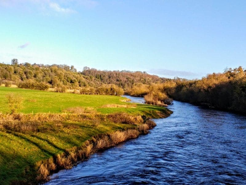 the Boyne River valley and historic site is a very easy day trip from Dublin and a beautiful natural site