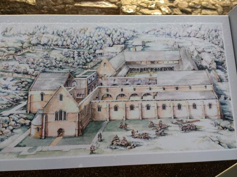Mellifont artists sketch one of the most important 4 sites you must see outside of Dublin