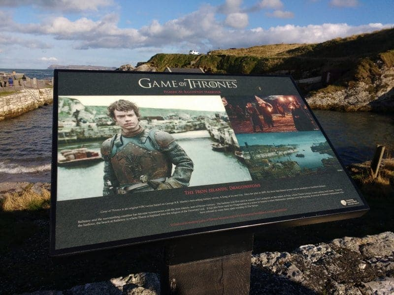 Game of Thrones in Ballintoy